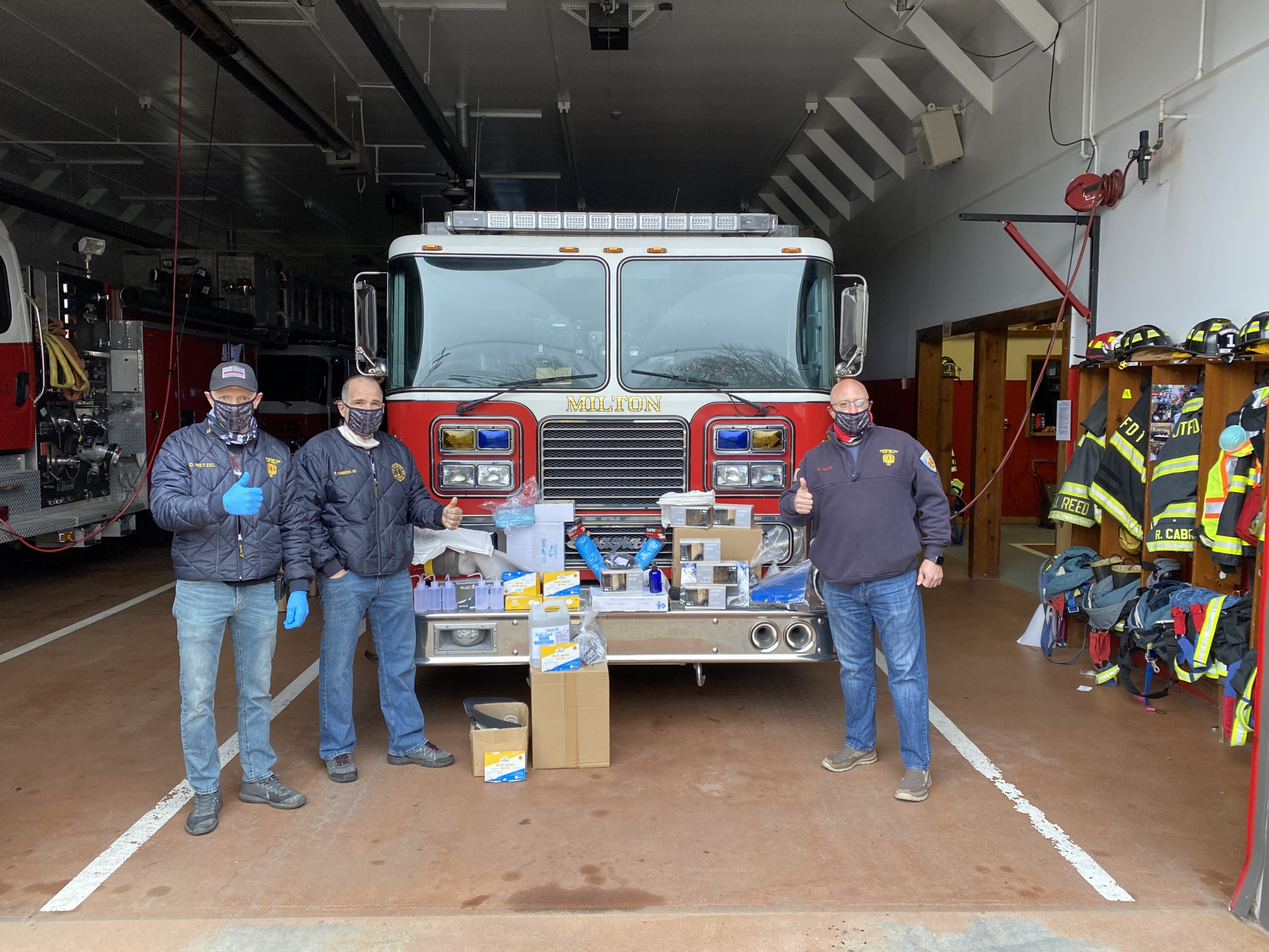 Donation of Protective Equipment to JTFD1