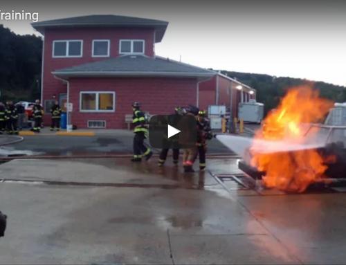 JTFD1 Car Fire Training